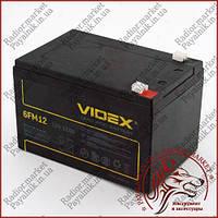 Аккумулятор свинцово-кислотный VIDEX 12V 12AH 6FM12 LEAD-ACID