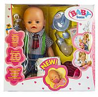 Кукла Бейби Борн интерактивный пупс с аксессуарами Baby Born К159