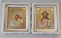Венчальная пара иконы в церковной лавке (размер 21х24см)