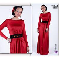 Коллекция трикотажных нарядов для женщин любого вораста и размера.