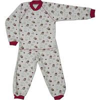 Пижама велюр на девочку мишки (98-116)
