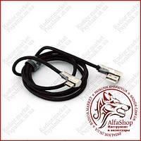 USB to USB Type-C кабель Konfulon S72 (2A, 1 метр, USB штекеры 90°)