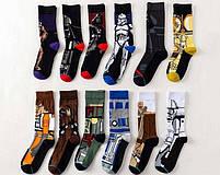 Высокие мужские носки  Дарт Вейдер, фото 3