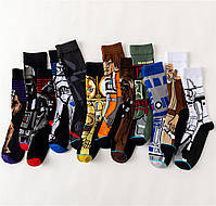 Высокие мужские носки  Дарт Вейдер, фото 4