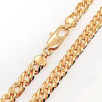 Цепочка Xuping Jewelry 60 см х 8 мм Ромб медицинское золото, позолота 18К А/В 4687