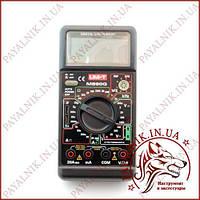Цифровий мультиметр універсальний UNIT UT-M890G, вольтметр, амперметр, частотомір (made in EC)