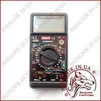 Цифровой мультиметр универсальный UNI-T UT-M890С+, температура, емкость, прозвонка  (made in EC)