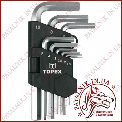 Шестигранні ключі 35D955 Topex