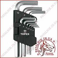 Шестигранные ключи 35D955 Topex
