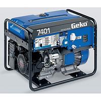Однофазный бензиновый генератор Geko 7401 E-AA HEBA (6,4 кВт)