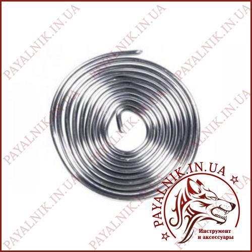 Припой CYNEL 1 метр, диаметр 1,5мм легкоплавкий с флюсом, КАЧЕСТВО ПОЛЬША