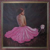 """Картины для дома """"Нежность"""" (купить картину маслом киев)"""