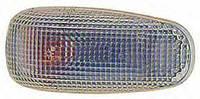 Левый (правый) указатель поворота Мерседес Спринтер 95-06 на крыле белый овальный без лампы / MERCEDES SPRINTER (1995-2006)