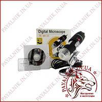 Цифровой USB микроскоп 50-500X (U500X) (14-0405)