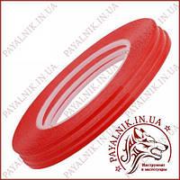 Скотч 3M двухсторонний ширина 5мм красный (0.25мм., 40м.)