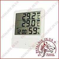 Термометр с измерением влажности для внутренней и наружной температуры (CX-301A)