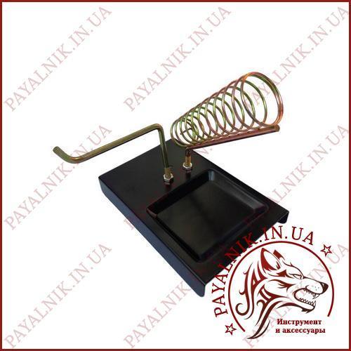 Металическая подставка для паяльника M-302, подставка с держателем для припоя