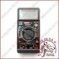 Мультиметр універсальний UNIT UT-M890F, вимірювач ємності, частотомір, вольтметр (made in EC)