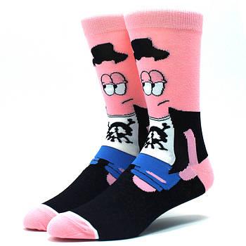 Мультяшные высокие мужские носки Патрик