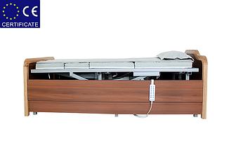 Медицинская функциональная электро кровать с туалетом  H101. Регулируемая высота ложа. Для инвалидов., фото 3