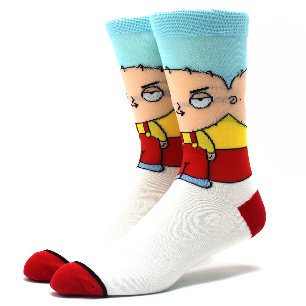 Мультяшні чоловічі шкарпетки Гріффіни
