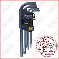 Шестигранные ключи 9 штук 1.5-10мм (Средние) (4022021)