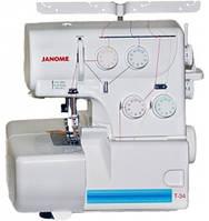 Оверлок Janome T-34 (код 158551)