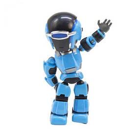 Робот-повторюха, интерактивный (синий)  sco