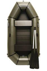 Надувная резиновая лодка Grif boat GL-240S для рыбалки и охоты на воде 220607, КОД: 110881