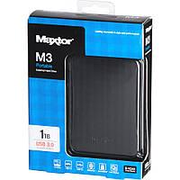 """Жорсткий диск зовнішній 2,5"""" USB 3.0 1TB Seagate Maxtor M3 Portable Black (STSHX-M101TCBM)"""