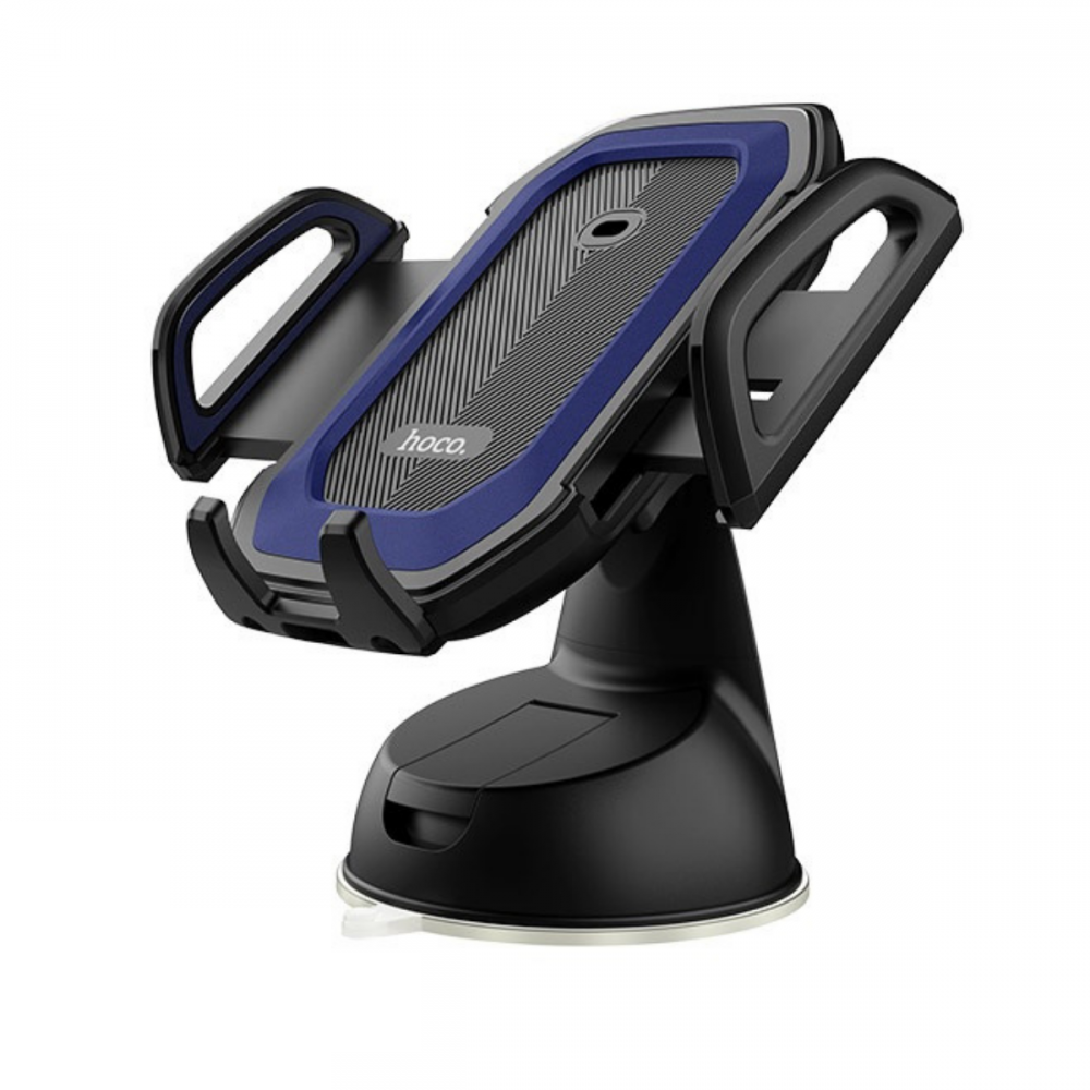 Холдер Hoco CA32 Platinum infrared auto-induction in-car phone holder Blue