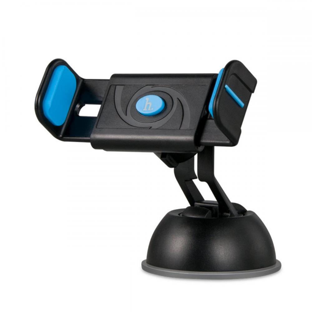 Холдер Hoco CPH17 Semi-automatic suction pad Mobile Holder Blue