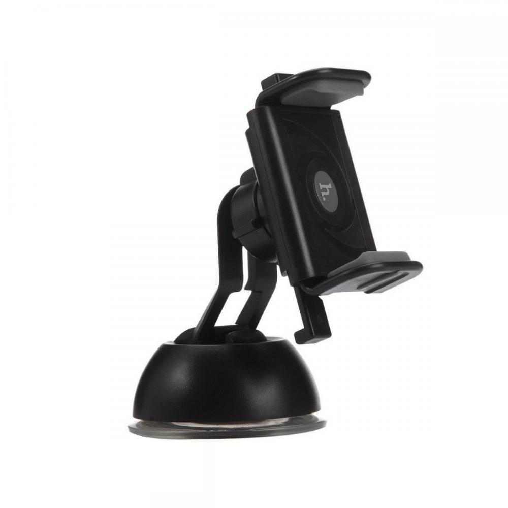 Холдер Hoco CPH17 Semi-automatic suction pad Mobile Holder Grey