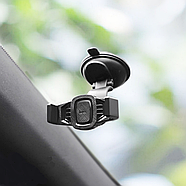 Холдер Hoco CA40 Refined suction cup base in-car dashboard phone holder Black, фото 3
