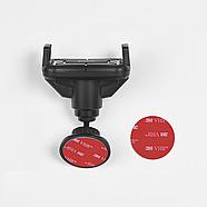 Холдер Hoco CA43 Travel spirit push-type dashboard in-car holder Black, фото 3