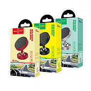 Холдер Hoco CA36 Plus Dashboard metal magnetic in-car holder Silver, фото 2