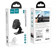 Холдер Hoco CA53 Intelligent dashboard in-car holder Black&grey, фото 2