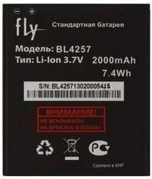 Аккумулятор для Fly IQ451 Quattro Vista оригинальный, батарея BL4257, фото 2