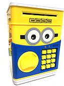 Копилка детский сейф Minions музыкальный с кодовым замком для бумажных денег и монет