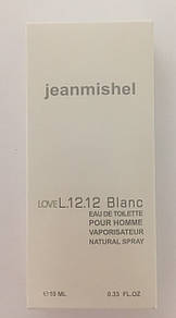 Мужской минипарфюм jeanmishel loveL12.12 Blanc 10 мл