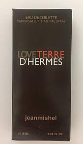 Минипарфюм jeanmishel loveTerre D`Hermes 10 мл