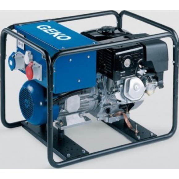 Трехфазный бензиновый генератор Geko 6400 ED-A HEBA (5,2 кВт)