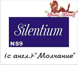 "трафарет надпись для биотату ""Молчание""  №-NS9"
