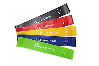 Набор лент-эспандеров резинок для фитнеса UPowex 5 шт up1221, КОД: 212159