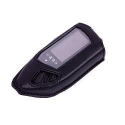 Чехол Valenta для брелока D600 на сигнализацию Pandora DXL 3970 кожаный Черный РК611, КОД: 293190