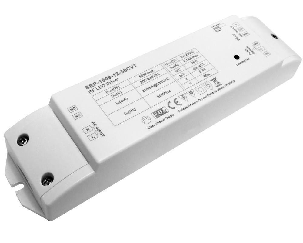 LED контролер-приймач 220VAC 2канала SRP-1009-12-50 CVT SUNRICHER 9939