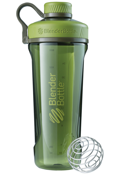 Спортивная бутылка-шейкер BlenderBottle Radian Tritan 940ml Moss Green (ORIGINAL)