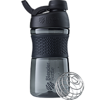 Спортивная бутылка-шейкер BlenderBottle SportMixer Twist 590ml Black (ORIGINAL), фото 1