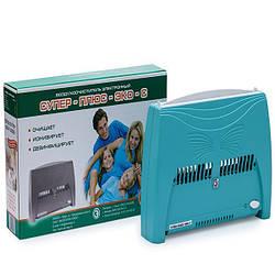Очиститель ионизатор воздуха Супер Плюс ЭКО-С Зеленый hubpyZD53199, КОД: 1033082