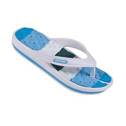 Вьетнамки пляжные женские Spokey Medusa 38 Белые с голубым s0025, КОД: 235154